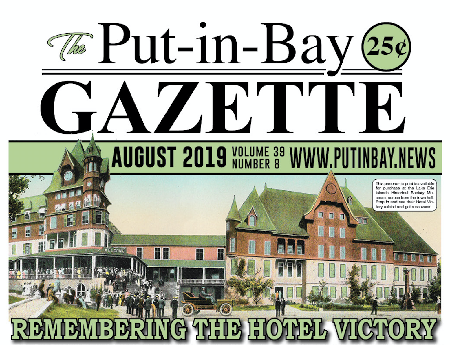 Hotel Victory Front Page Head